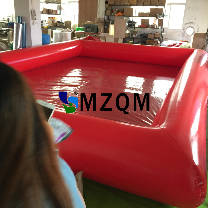 MZQM 6*5m Outdoor Inflatable Water Games PVC Tarpaulin Large Inflatable Swimming Pool For Adult and Kids