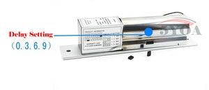 Image 2 - Электрический Болт блокировки низкая температура задержка установка DC 12V нержавеющая сталь сверхмощный не безопасный падение дверь контроль доступа безопасности