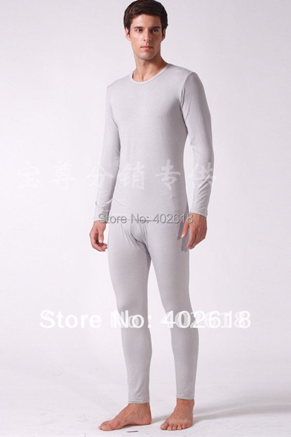 Aliexpress.com : Buy 1Set/Lot, Pajama sets, Men long underwear ...