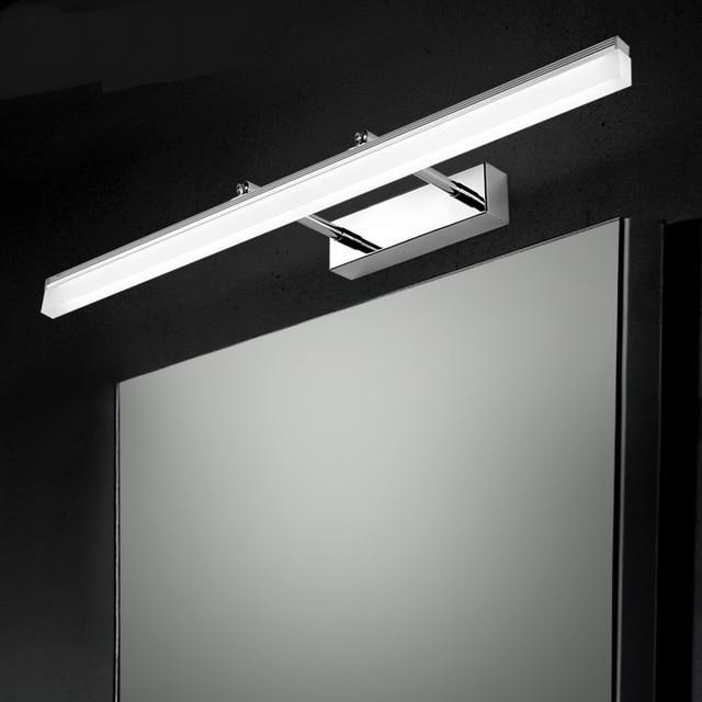 led objektiv scheinwerfer lampe wandleuchte schrank bad toilette einfache wasserdichte anti fog. Black Bedroom Furniture Sets. Home Design Ideas
