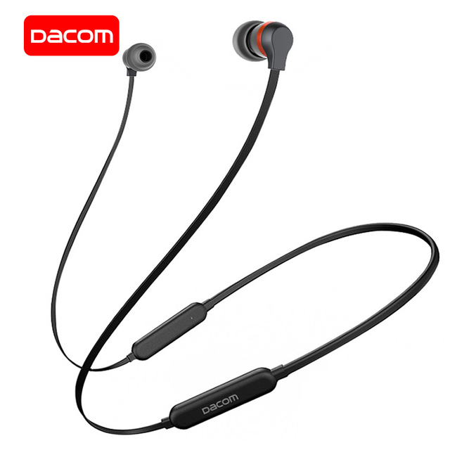 DACOM L06 Bluetooth Headphones Sports Wireless Earphone with Microphone Running Headset Neckband Headphone for iPhone Samsung