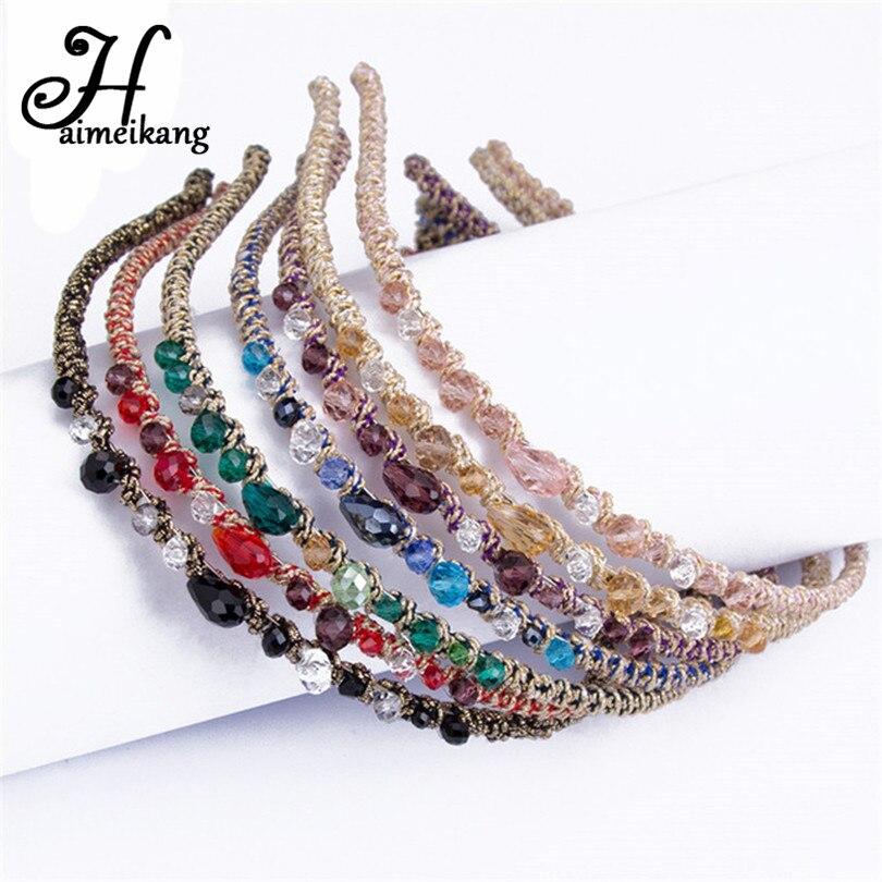 Haimeikang   Headwear   Rhinestone Crystal Headband Barrettes Hair Clips Hair Band for Women Girls Hairpins Hair Accessories