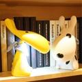 Perro de dibujos animados LED Mesa de Luz Niños Lámpara de Escritorio Protección para Los Ojos Lámpara de lectura para el Bebé Kid Niños Dormitorio Sala de estar de Noche luz