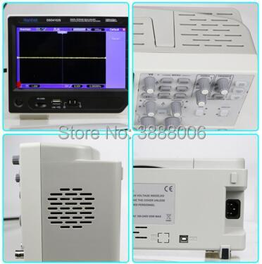 Original Hantek DSO4072S USB 2 channel Digital Oscilloscope Signal Source 70MHz Bandwidth 1GSa/s Arbitrary/Function Generator