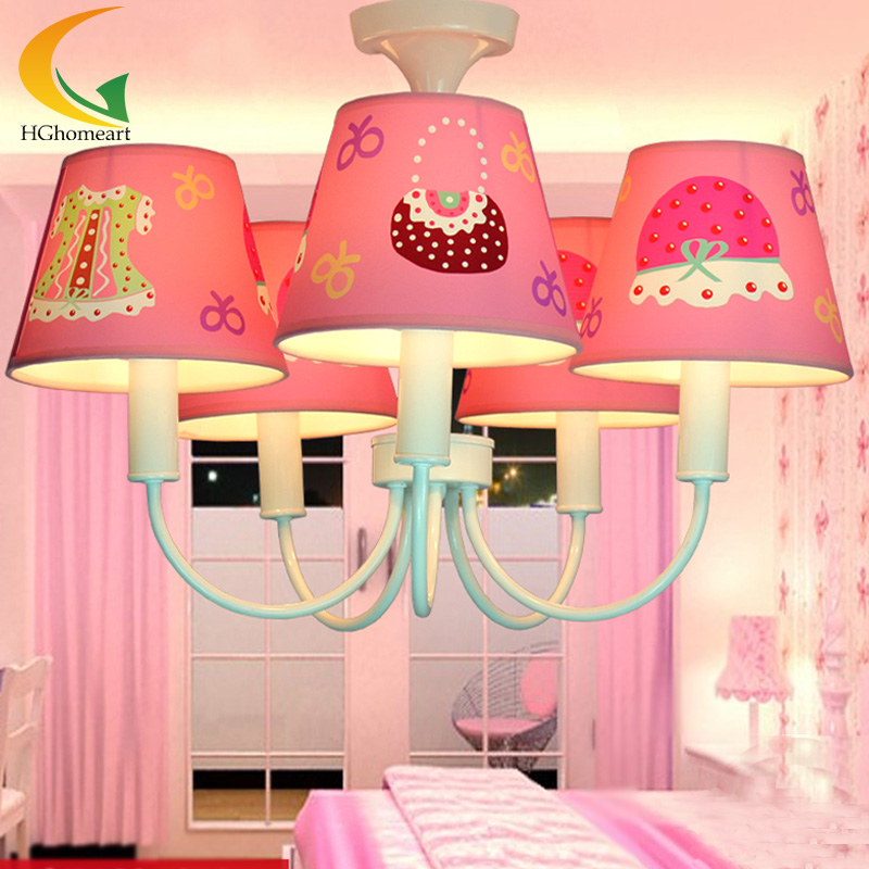 Led modern lighting living room dining room led lamp bedroom chandeliers  girl child chandelier E27 220V. Popular Girls Bedroom Chandelier Buy Cheap Girls Bedroom
