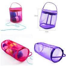 Портативные круглые тканевые сумки из проволочной сетки сумка