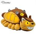 Ônibus Totoro Hayao Miyazaki Animação Boneca Brinquedos de Pelúcia Totoro Bonde de Pelúcia brinquedos 30 cm Menina Kawaii Brinquedos Brinquedos Bonitos Do Bebê Para Presentes