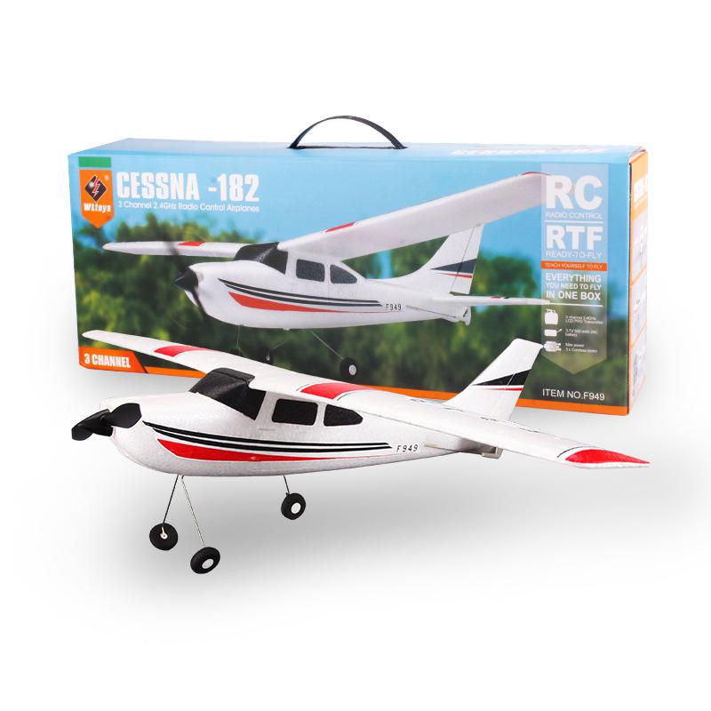 LeadingStar WLTOYS F949 2.4G RC Aircraft Fixed-wing EPP Airplane Radio Control Aero Model Toys zk49