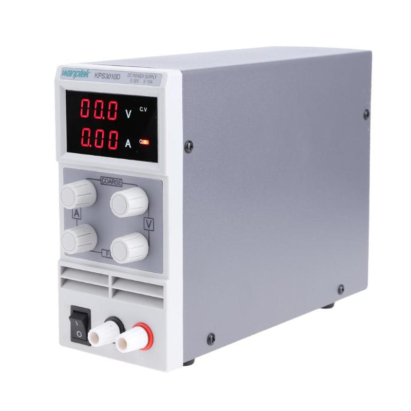 KPS3010D 30V 10A Switch Voltage Regulators Laboratory DC power supply 0.1V 0.01A Digital Display Adjustable Mini DC Power Supply qj3005t variable linear input voltage 110v ac dc led digital voltage regulators power supply adjustable 0 30v 0 5a power supply