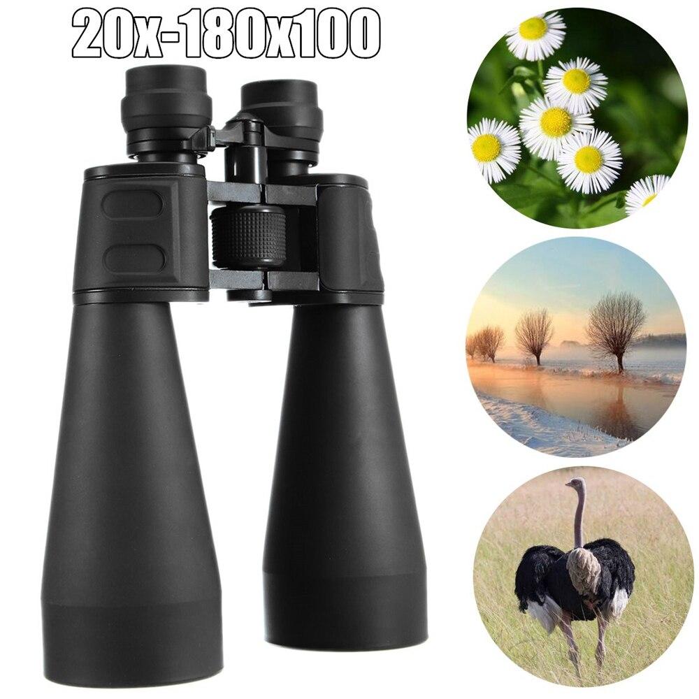 Image 5 - Professional Binocular Adjustable 20 180x100 Zoom Binoculars Light Night Vision Outdoor Telescope Binoculars High Power-in Monocular/Binoculars from Sports & Entertainment