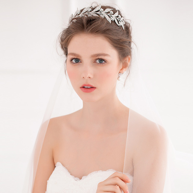 Real Image Bridal Accessories Sexy 2016 New Arrive Hot Sale In Stock Cheap Wedding Hair Accessories