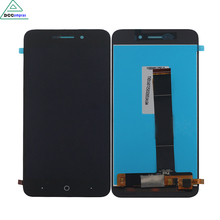 Black 100% New Full LCD Display + Touch Screen Digitizer Assembly For ZTE Blade A601 BA601 Free Shipping With Tracking Number недорго, оригинальная цена
