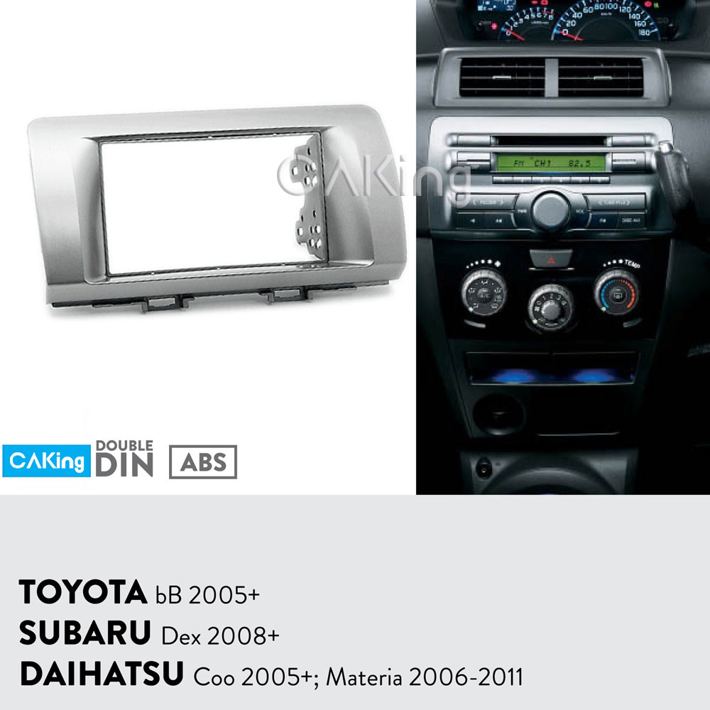 Car Fascia Radio Panel for Toyota bB 2005 Subaru Dex 2008 DAIHATSU Coo 2005 Materia 2006