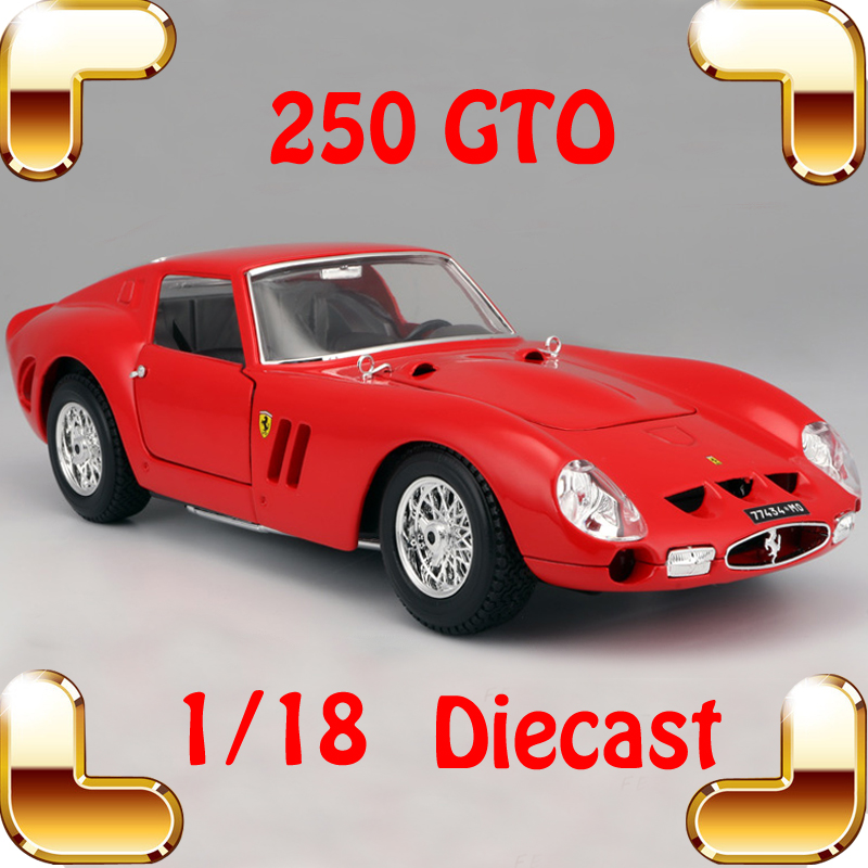 New Arrival Gift 250GTO 1/18 Model Collection Car Fans Favour Luxury Present Toys Metallic Scale Decoration Simulation Static new year gift rr 1 18 large model car metal vehicle suv car front decoration alloy luxury present men collection die cast toys