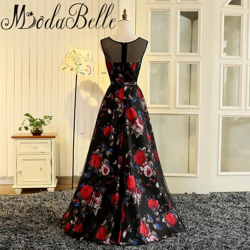 Modabelle Vestidos De Graduacion Largos 2017 Gaun Prom Long Floral - Gaun acara khas - Foto 2