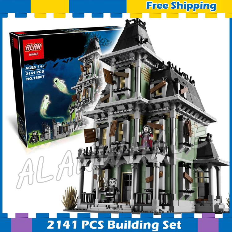 2141pcs Monster Fighters Haunted House Vampyre Castle 16007 Model Building Blocks Children Gifts sets Movie Compatible with Lego 2141pcs monster fighters haunted house vampyre castle 16007 model building blocks children gifts sets movie compatible with lego