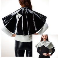 1pcs Professional Hairdressing Shawls PVC Waterproof Hair Treatments Bib Barber Styling Salon Hairdresser Shampoo Cape Wraps