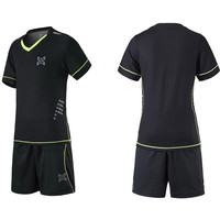 2017 Children Boys Soccer Shirt Uniforms Suit Quick Drying Breathable Short Sleeve Soccer Bag Sports And
