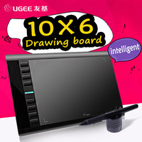 UGEE M708 10x6 дюймов Smart графический Рисунок Планшеты цифровой Планшеты Подпись Площадку рисунок пером для написания картины Pro дизайнер Wacom