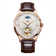 Automatic Mechanical Watch Men Switzerland Nesun Tourbillion Men's Watches Luxury Brand