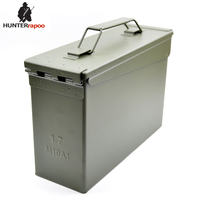 30% Off 30 Cal Metal Ammo Can Military and Army M19A1 All Metal Box for Long Term Storage by Solid Tactical Bullet box Ammo Case