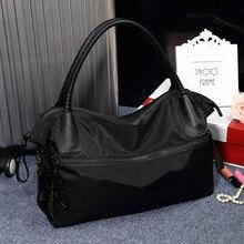 Reisetasche weiblichen tragbare persönlichkeit icon große kapazität bag oxford wasserdichte Umhängetaschen