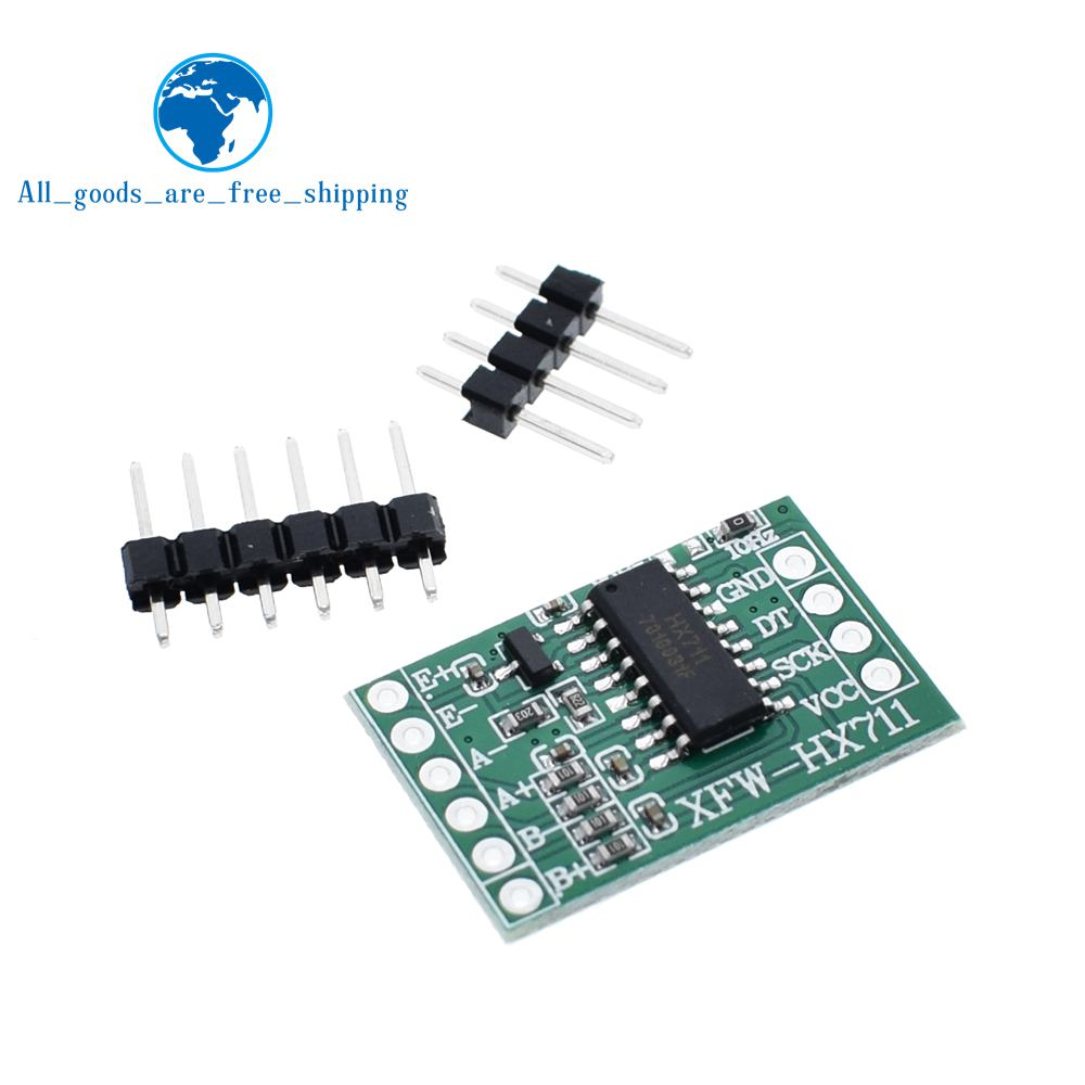 1//2//5//10PCS HX711 Weighing Sensor Dual-Channel 24 Bit High Precision AD Module F