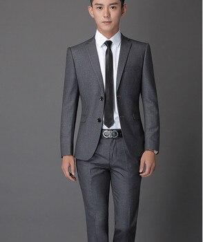 2017 Best Selling Mens Wedding Suits Custom Made Slim Fit Wedding Groom Tuxedos For Men Groom Suits Bridegroom (Jacket+Pants)