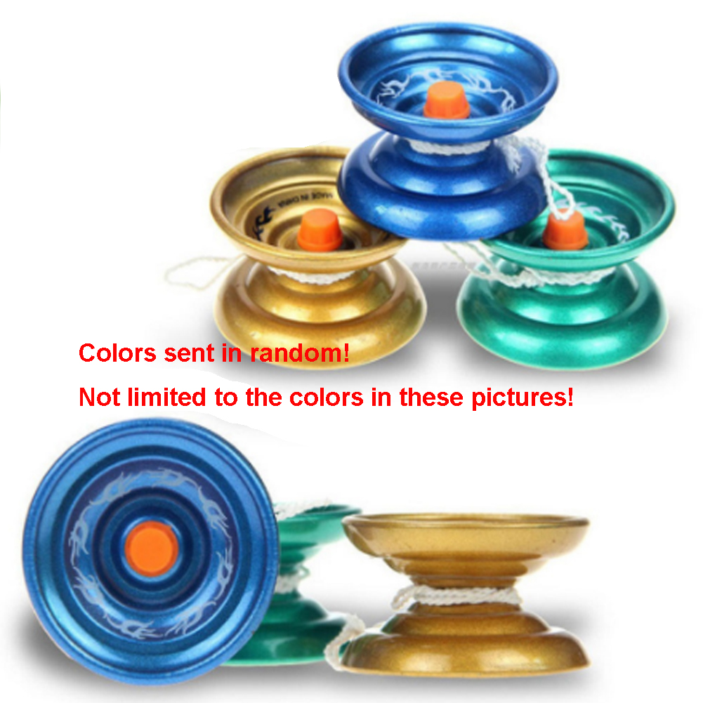 Professional Yo Yo Ball Bearing Alloy Yoyo Tricks Kids Gift