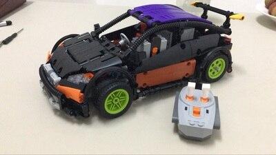 New Technic Series The Hatchback Type R Set MOC Building Blocks Bricks Educational Compatible Lepins DIY Model Gift new lp2k series contactor lp2k06015 lp2k06015md lp2 k06015md 220v dc