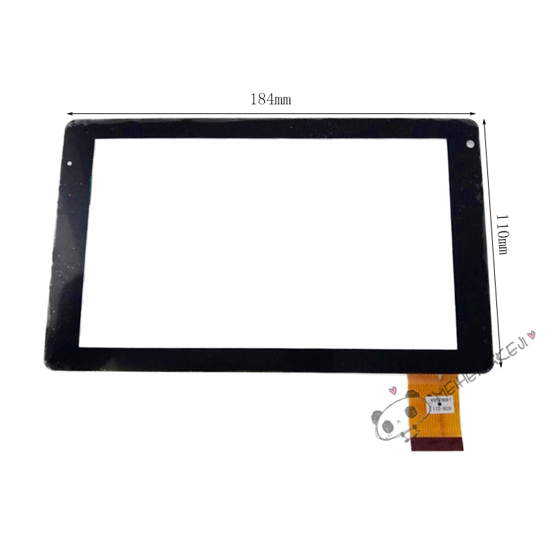 New 7 Inch Touch Screen Digitizer Glass Sensor Panel For Qumo Kids Tab Free shipping for qumo altair 705i tablet capacitive touch screen 7 inch pc touch panel digitizer glass mid sensor free shipping