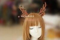 Принцесса сладкий лолита Hairbands DIY волос в японском стиле санта лося рога обруч шпильки потому ну вечеринку GSH041