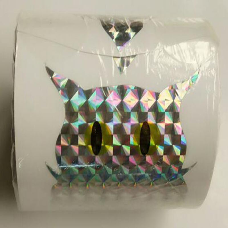 Купить с кэшбэком Bird Repellent Blinder Reflective self adhesive Owl Label (100pcs/roll) Eco Friendly Scare A Bird - Window Decor decals