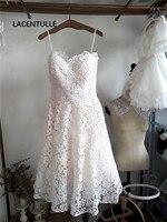 Sleeveless Knee Length Lace Homecoming Dress Short Party Dress