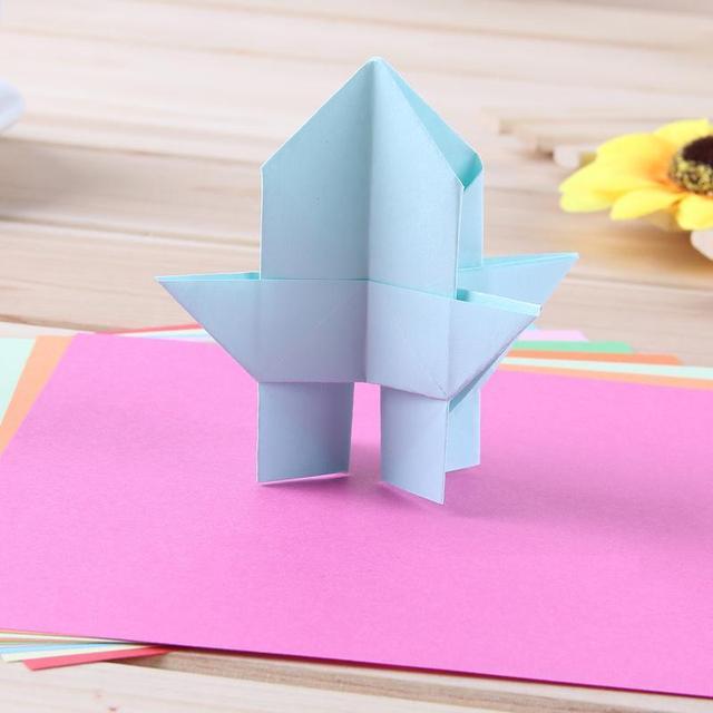 1 Pack 100 Sheets Colored Diy Origami Paper Kawaii Things School