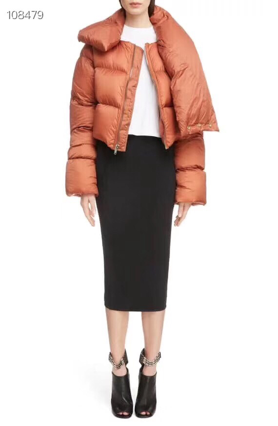 Blanc Manches Courte Duvet 90 Vêtements Orange Noir Casual Longues Femmes Chaud Moto Filles Veste orange Black Fraîches Style À 2018 De Hiver Canard Top tYazwaqS