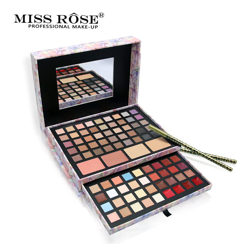 Miss Rose Brand Matte Eyeshadow Pallete Waterproof Natural Shimmer Eye Shadow Palette Long Lasting Makeup парфюмерная вода eleon парфюмерная вода 8 love antidote 8мл