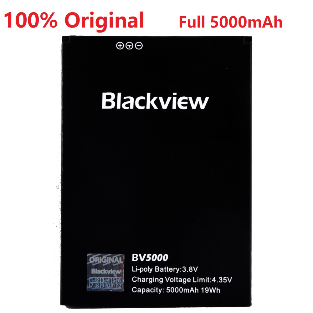 100% New Original Blackview Bv5000 5000mah Li-ion Backup Battery Backup Replacement Accessory Accumulators For Blackview Bv5000 Unequal In Performance Mobile Phone Parts