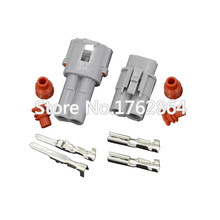 10 sets 2 Pin DJ7026-2-11/21 car connector Auto Waterproof Electrical connector Male Female kit for car motorcycle ect. 50 sets lot jst 2p connector plug jack 2 pin female male crimps rc battery connector car auto motorcycle ship electrical spare