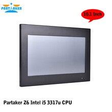 Соучастником Z6 Intel Core I5 3317U Сенсорный All In One PC С Резистивным Сенсорным Экраном