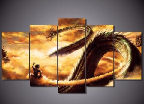 5 Piece HD Print Custom Made Paintings on Canvas Wall Art for Home ...