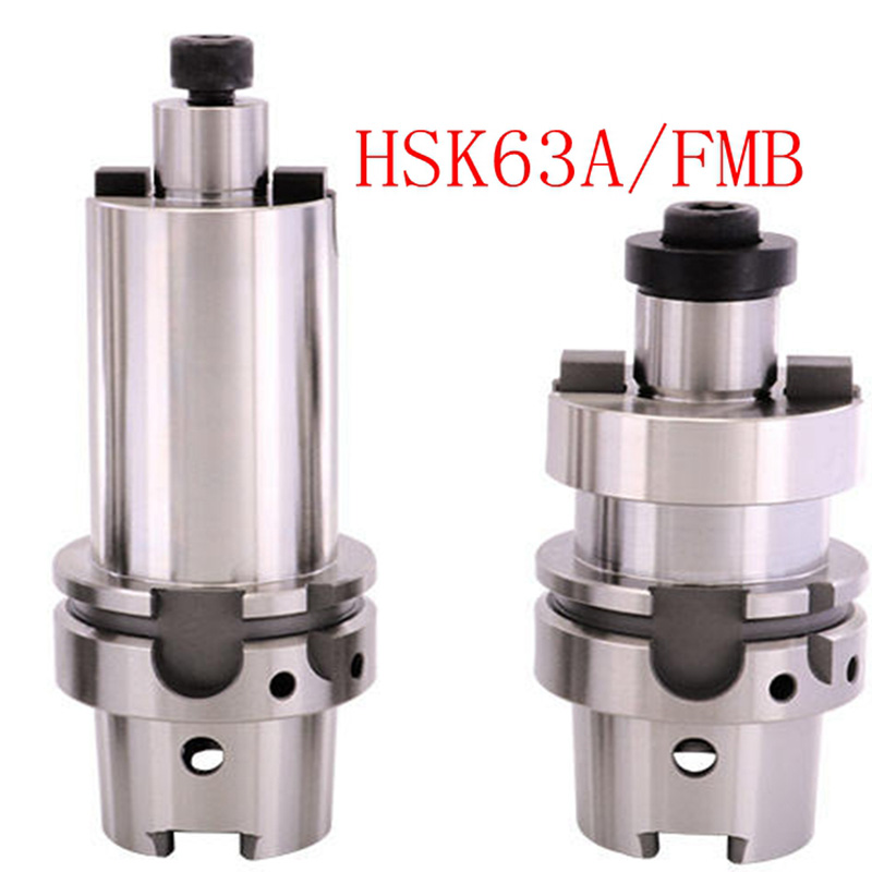 0.002mm <font><b>HSK63A</b></font> FMB 22 27 32 40 50L 60L 100L 160L High Precision CNC End Milling Tool Frame, Grinding Disk Connecting Handle image