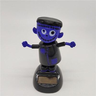 Новинка Солнечная игрушка ed танцующий откидной клапан качающийся головой игрушки для детей солнечная игрушка энергия фигурка игрушки - Цвет: Puppet monster