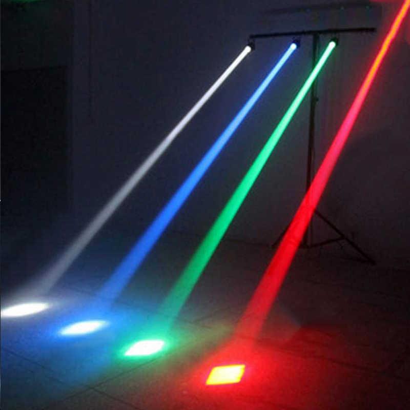 Led disko ışığı Spot Pinspot 5 W RGBW dar ışın Yağmur Projektör Par Işık Sahne Lambası Hareketli Kafa Cam Topları Bar Parti Lambası