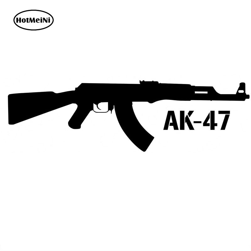"AK-47 Adhesive Vinyl Decal Sticker Car Truck Window Bumper Laptop Tablet 7/"""