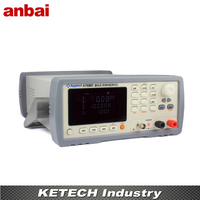 Insulation Resistance Meter Leakage Current Tester 1nA 20mA AT680
