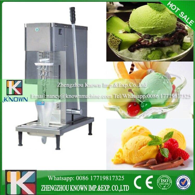 Ice Cream Mixer Fruit Frozen Yogurt Mixer Yogurt Mixing Machine Ice Cream Maker Milkshaker Yogurt Machine CE