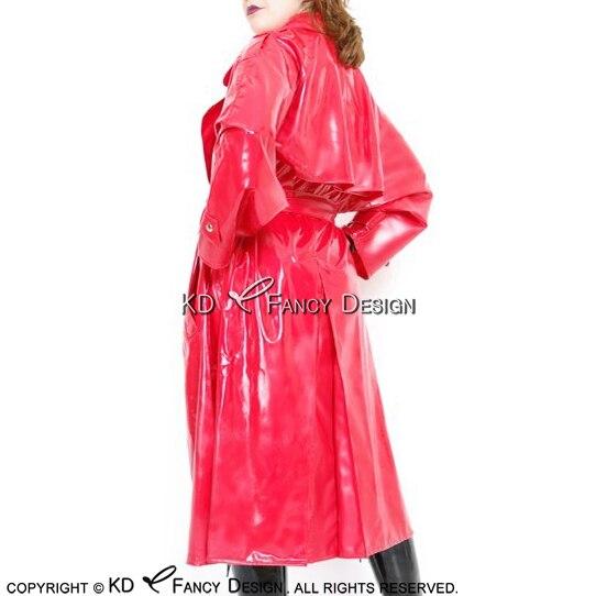 Sexy latex rainwear