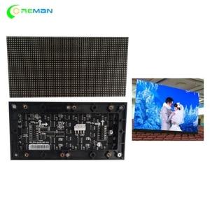 Image 1 - Kryty pełny kolor modułu led SMD 3 in 1 P2.5 160X80mm ściana wizyjna 160X160mm panel ledowy