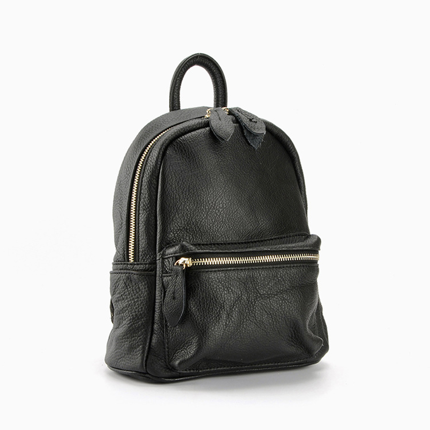 ФОТО 2017 Retro Preppy Style School Bag Small 100% Genuine Leather Women's Backpack Soft Shoulder Bag Natural Leather Bagpack small